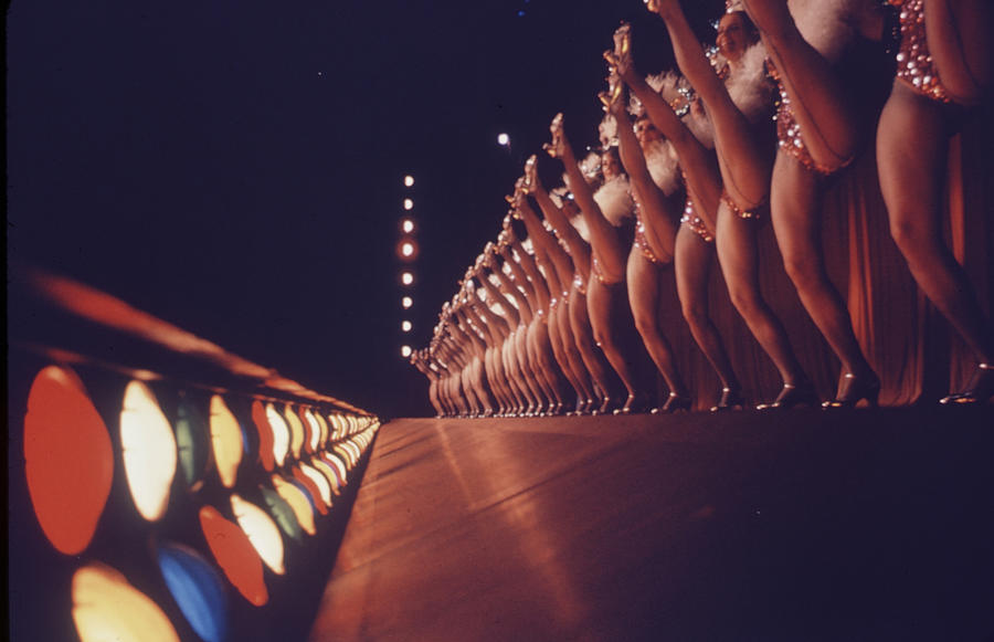 Performance Photograph - Radio City Music Hall Rockettes by Art Rickerby