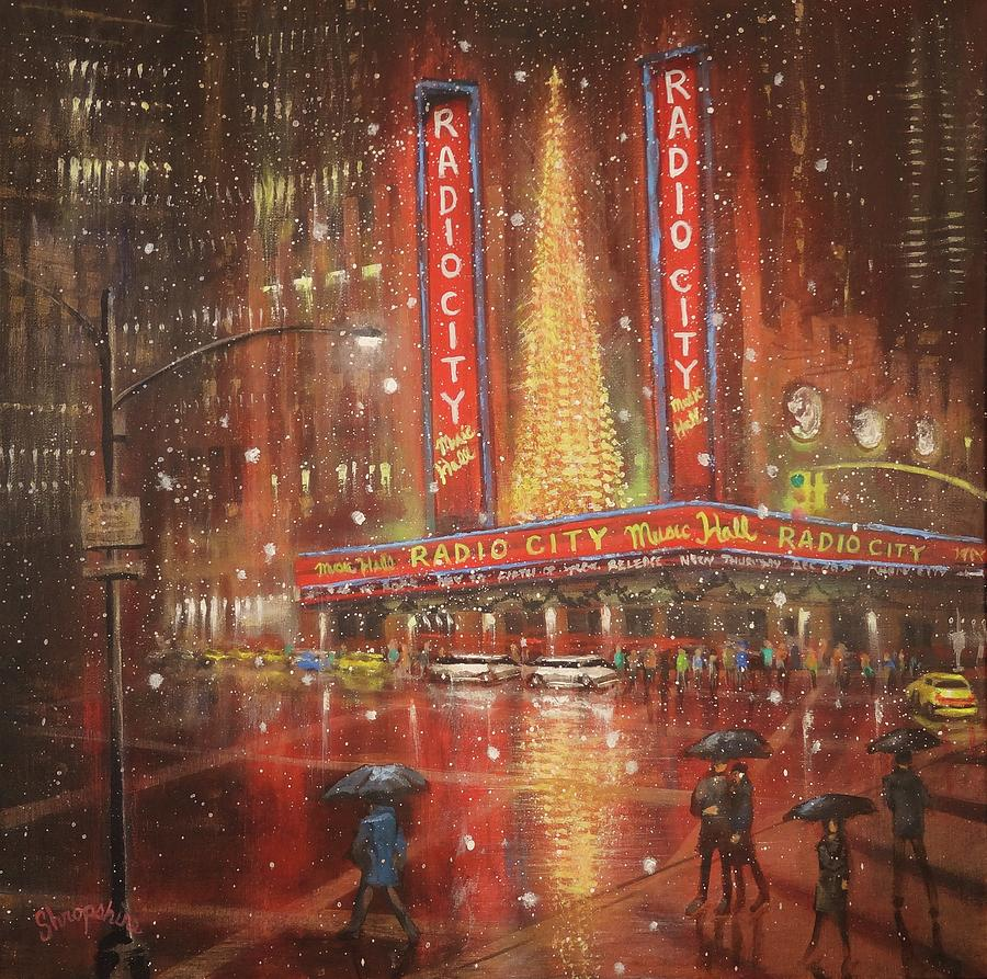Radio City NYC by Tom Shropshire