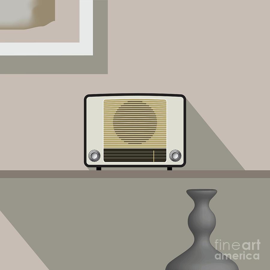 radio decor by ATIKETTA SANGASAENG