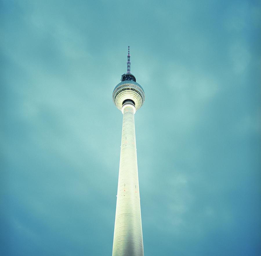 Radio Tower At Alexanderplatz Photograph by Silvia Otte