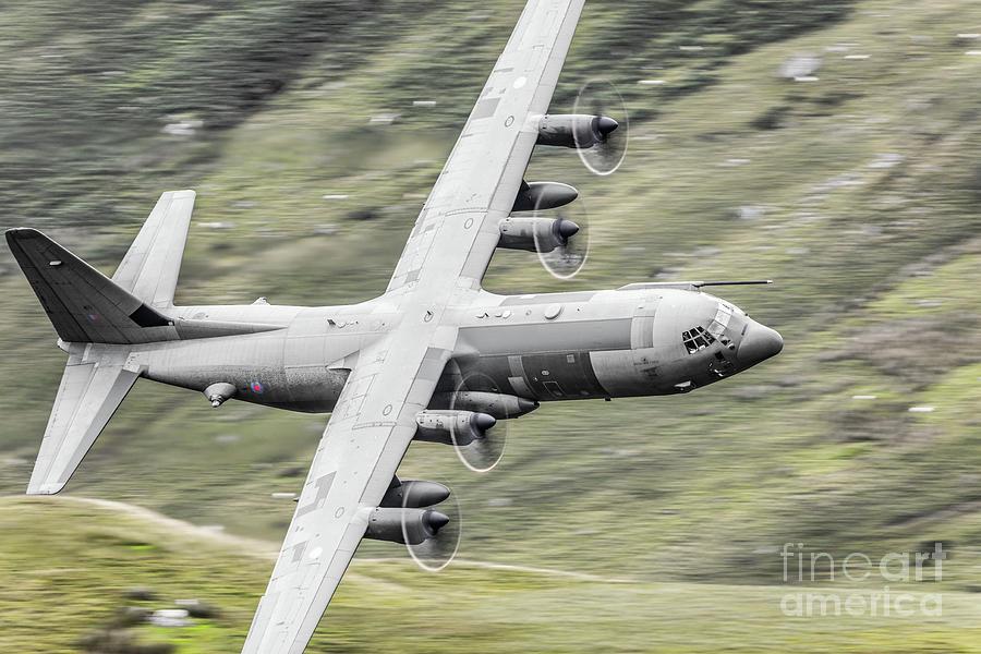 Transport Photograph - Raf C-130 Hercules 1 by Rastislav Margus
