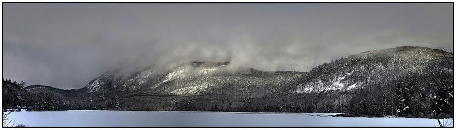 Ragged Mountain in Clouds by John Meader
