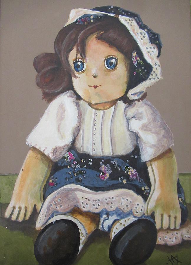 Raggedy Ann by Jacqui Simpson