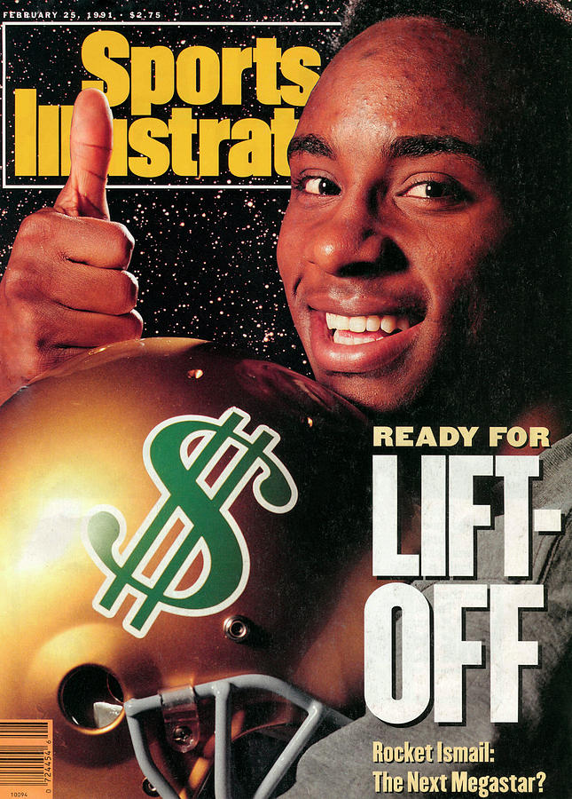 Raghib Ismail, 1991 Nfl Football Draft Preview Sports Illustrated Cover Photograph by Sports Illustrated