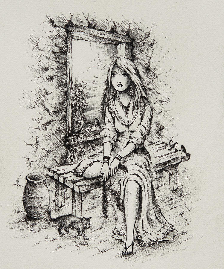 Rahab Drawing - Rahab by William Russell Nowicki