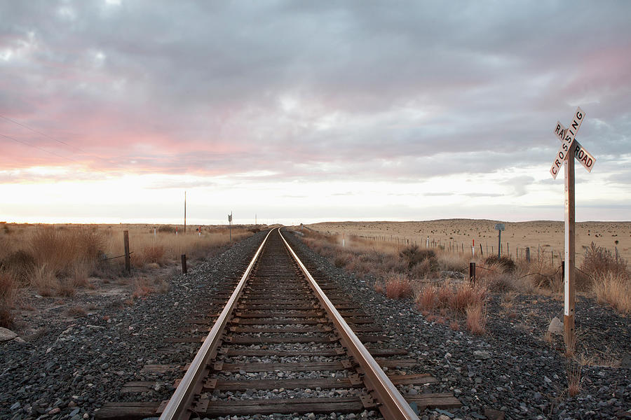 Rail Track Photograph by Camille Tokerud