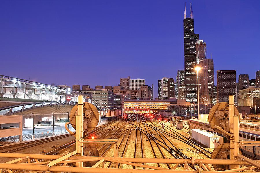 Rail Tracks Photograph by Joseph Balynas