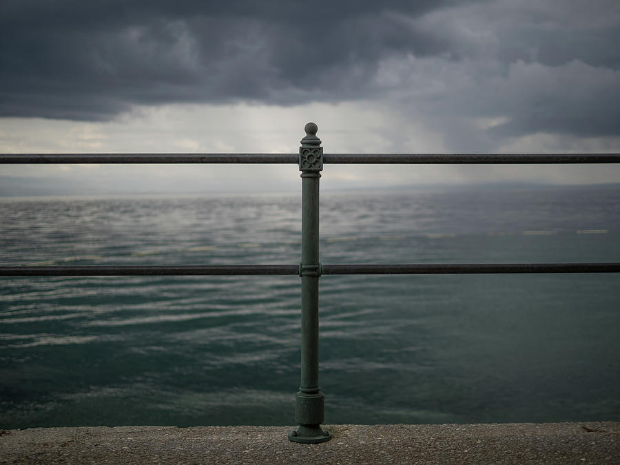 Railing Photograph - Railing by Curtis Patterson