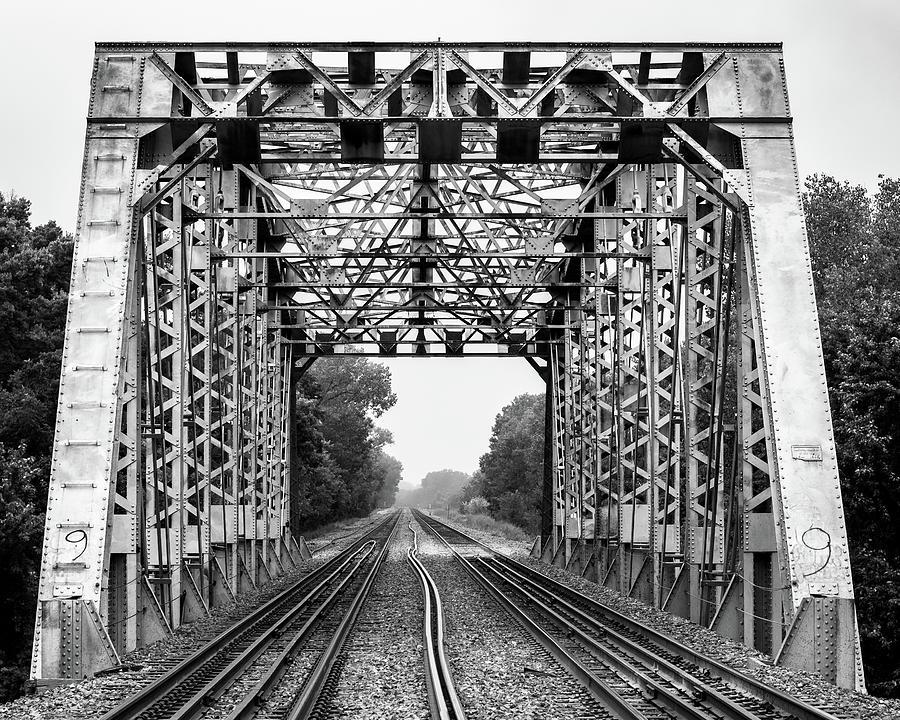 Railroad Bridge 1905 by Jeff Phillippi