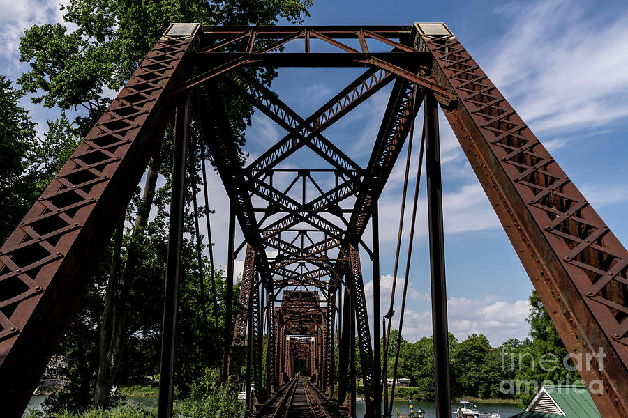 Railroad Bridge 6th Street Augusta GA 2 by SANJEEV SINGHAL