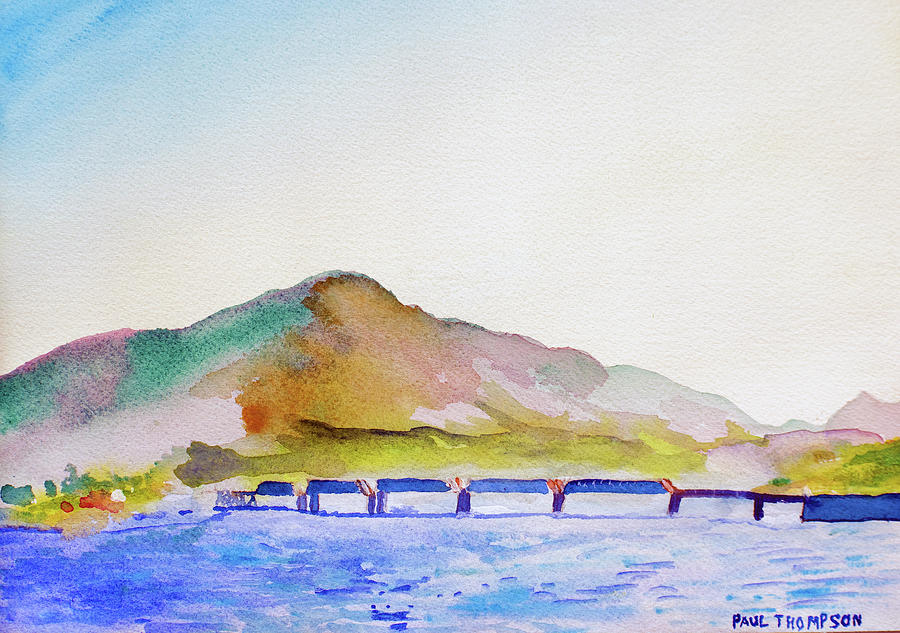 Railroad Bridge at Cahersiveen by Paul Thompson