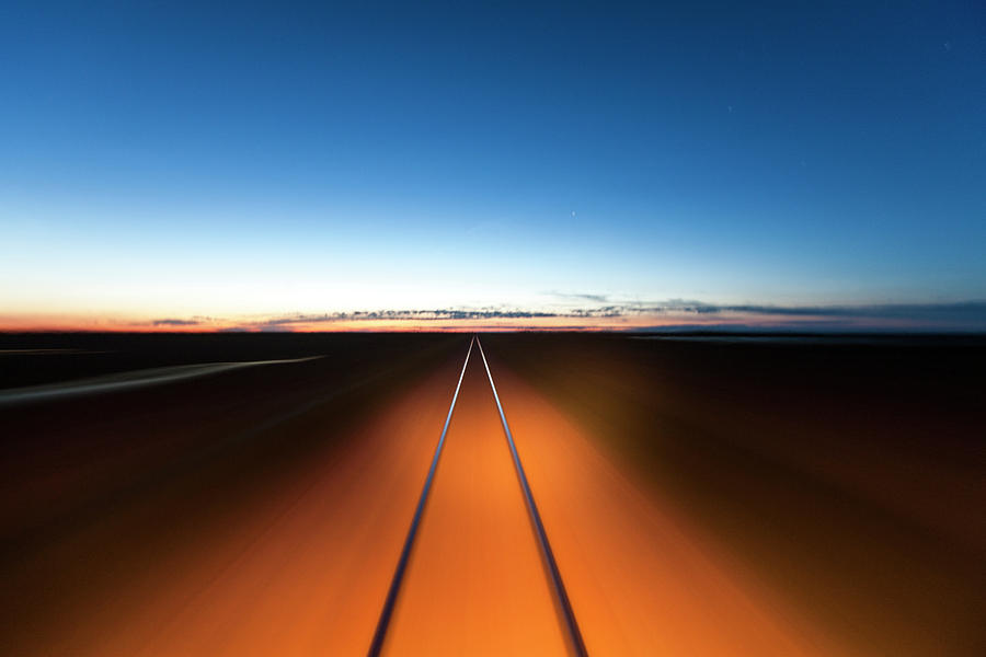 Railroad, Churchill, Manitoba, Canada Photograph by Paul Souders