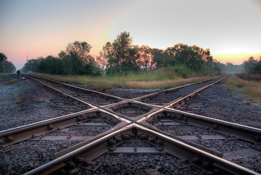 Railroad Diamond Photograph by Jerad Heffner