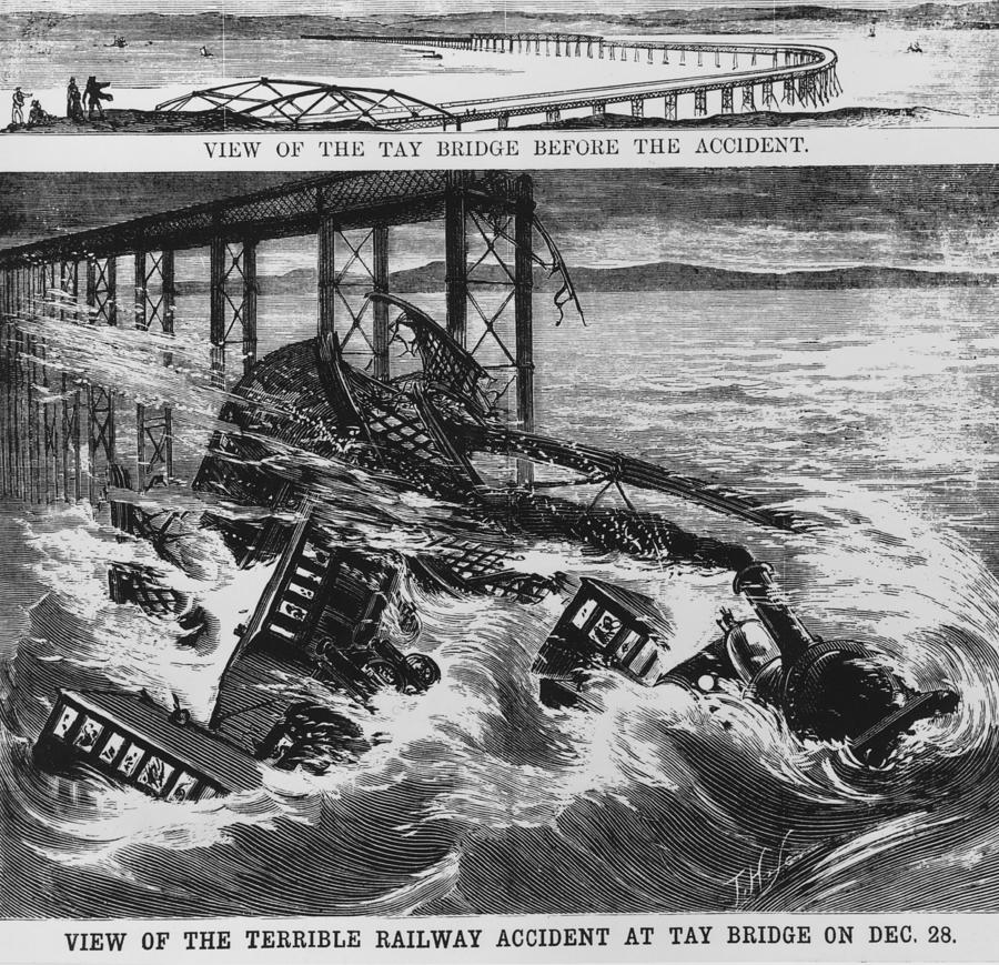 Railway Accident Photograph by Hulton Archive