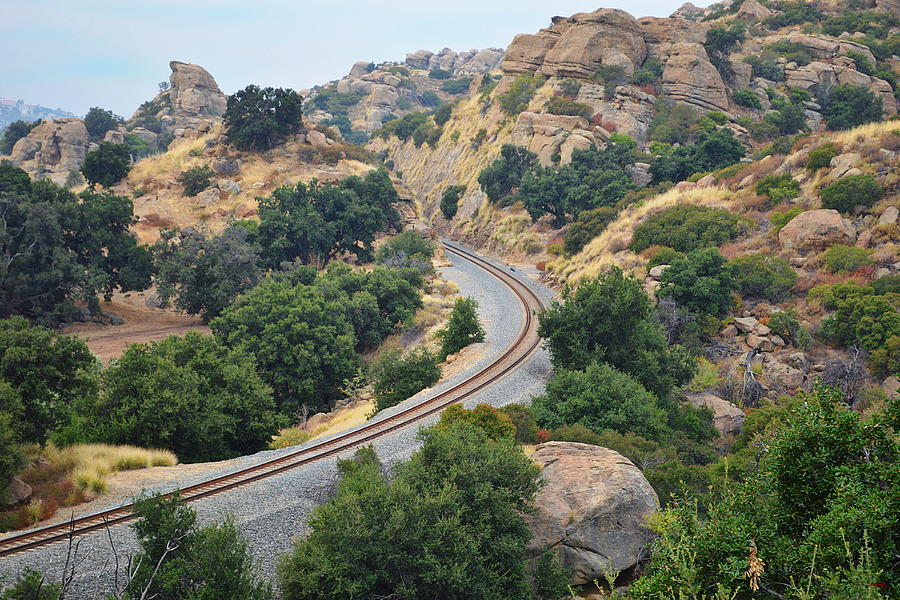 Railway At Stoney Point - Chatsworth by Glenn McCarthy Art and Photography