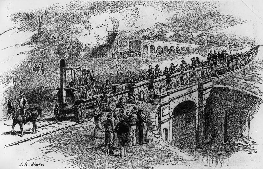 Railway Opening Digital Art by Rischgitz