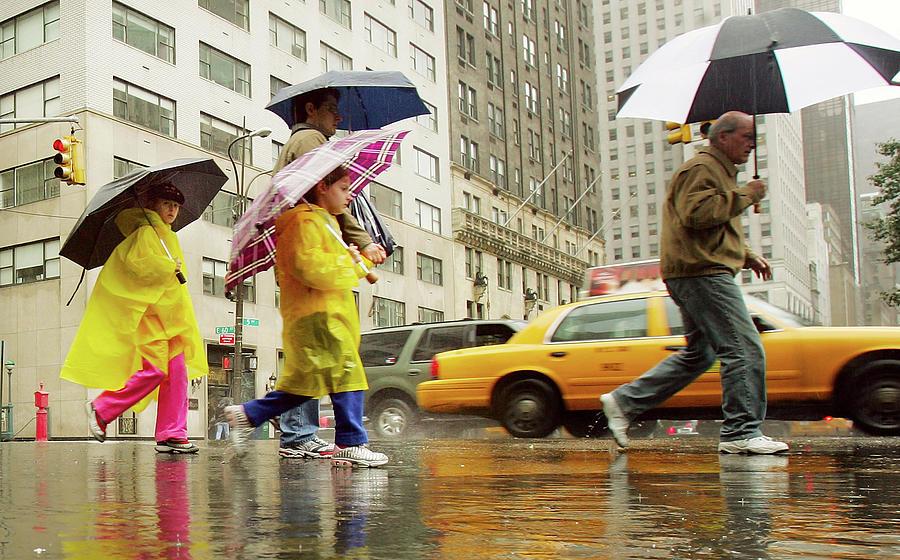 Rain Drenches Northeastern U.s Photograph by Mario Tama