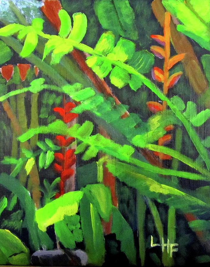 Rain Forest Memories by Linda Feinberg