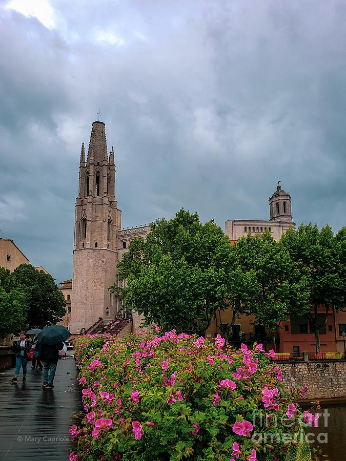 Rain in Girona by Mary Capriole