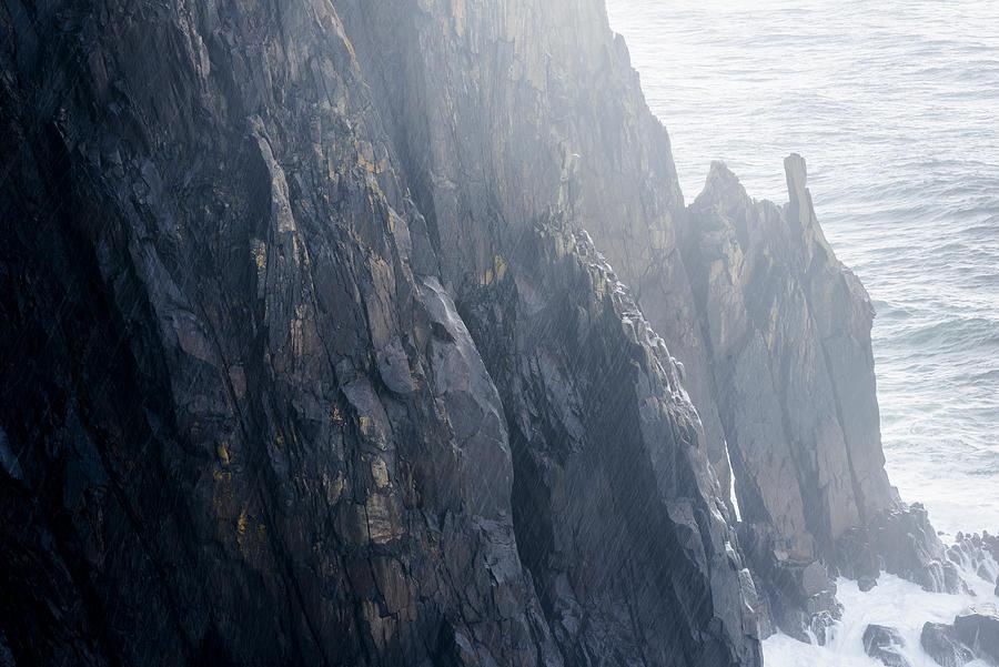 Rain on the Cliffs by Robert Potts