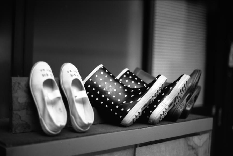 Rain Shoes Photograph by Snap Shooter Jp