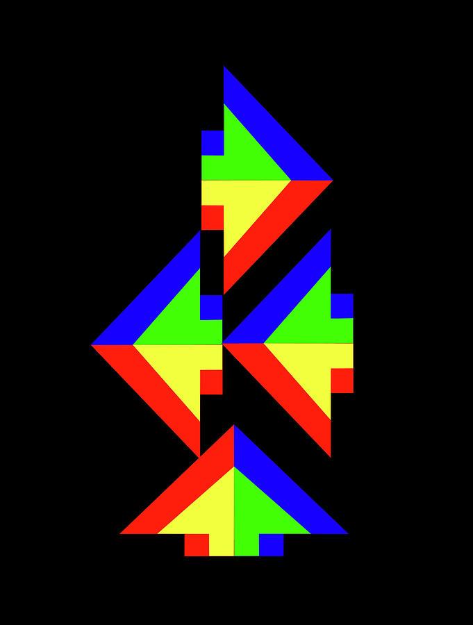 Rainbow Arrows by Asbjorn Lonvig