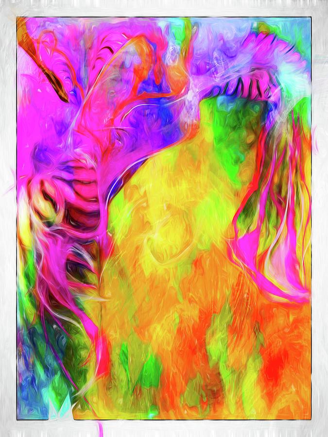 Rainbow Blossom by Cindy Greenstein