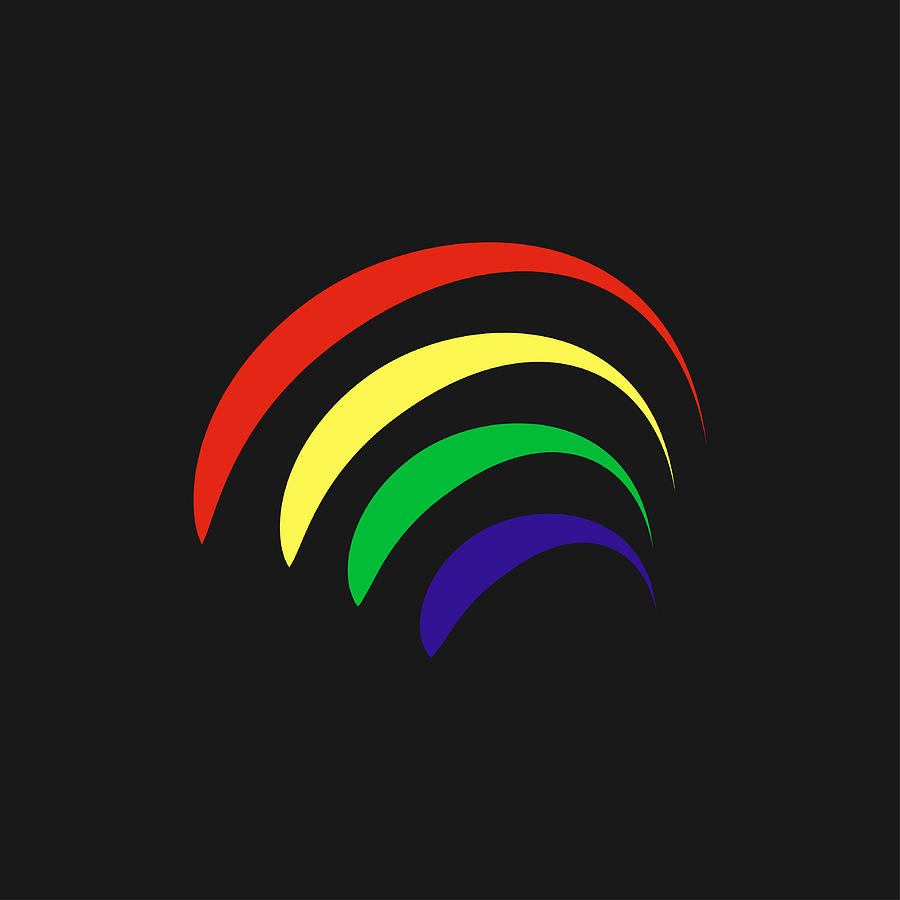 Rainbow Digital Art - Rainbow by Borja Robles