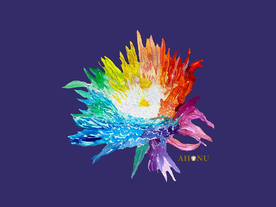 Rainbow Chrysanthemum by AHONU