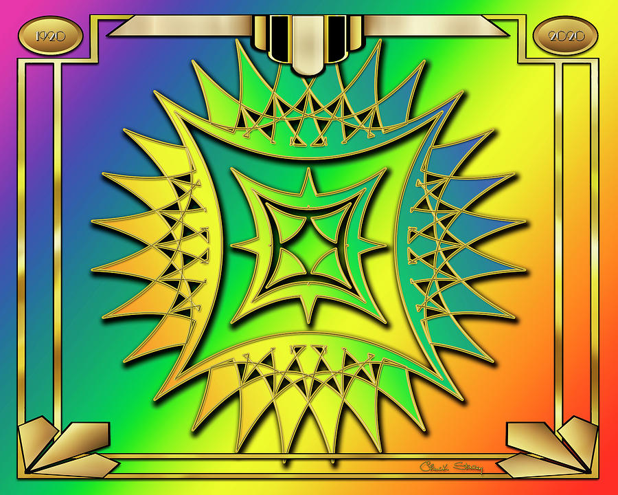 Rainbow Design 12 by Chuck Staley