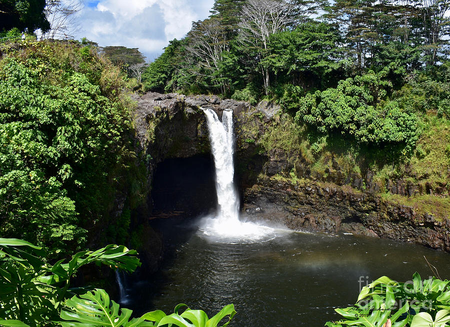 Rainbow Falls Hilo HI by Gary F Richards