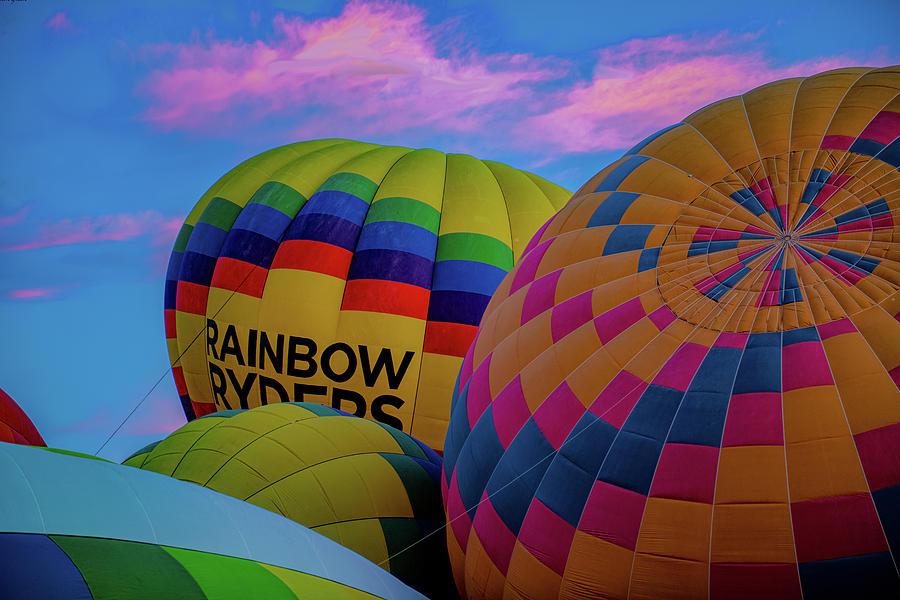 Rainbow In The Sky Photograph