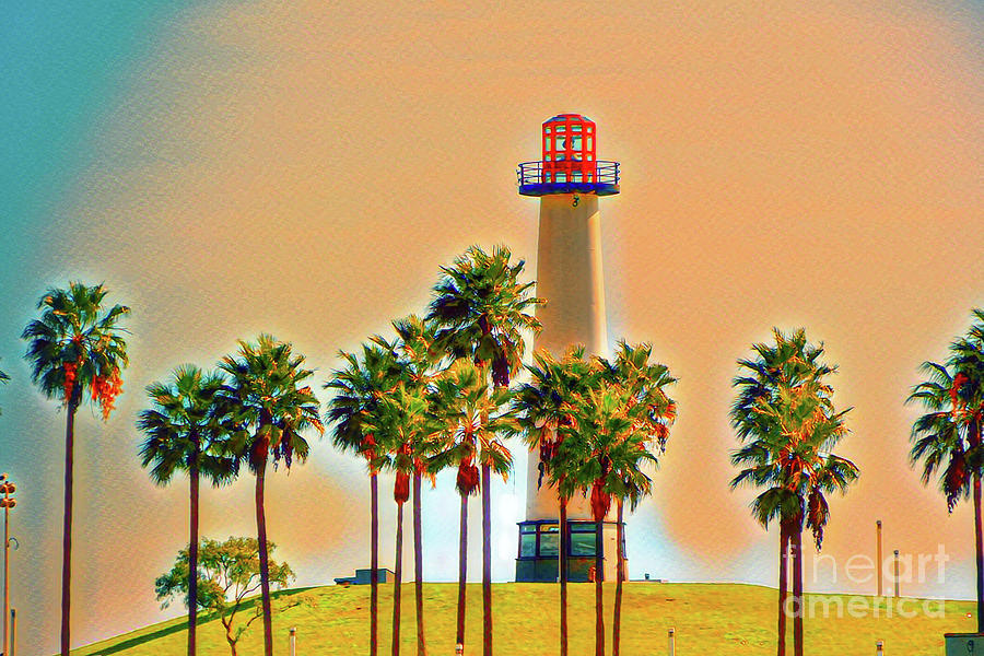 Rainbow Lighthouse Green/Yellow Theme by Joe Lach