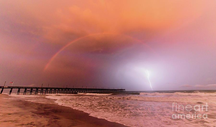 Rainbow Lightning by DJA Images