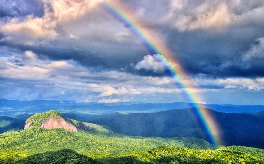 Rainbow on the Blue Ridge Parkway by Blaine Owens Photography