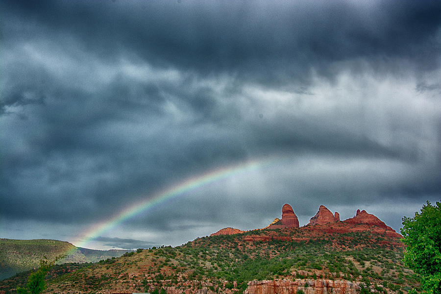 Rainbow Over Uptown by Tom Kelly
