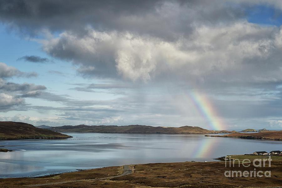Rainbow Reflection by Lynn Bolt