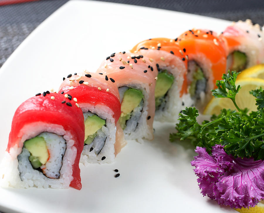 Rainbow Rolls Photograph by Whitewish