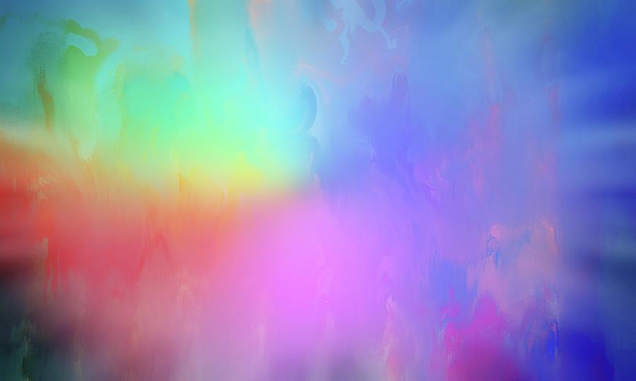 Rainbow Sky Painting