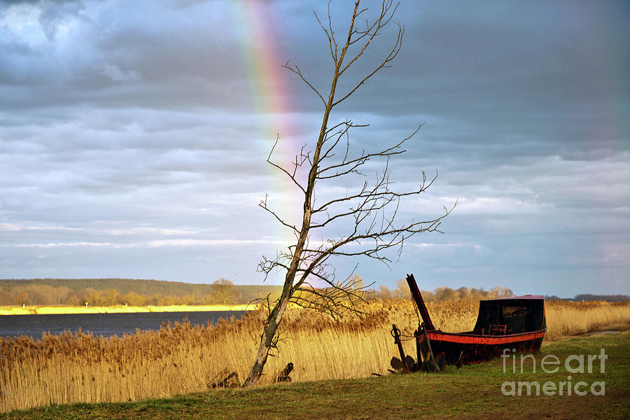 Rainbow Sound over the River Oder by SILVA WISCHEROPP