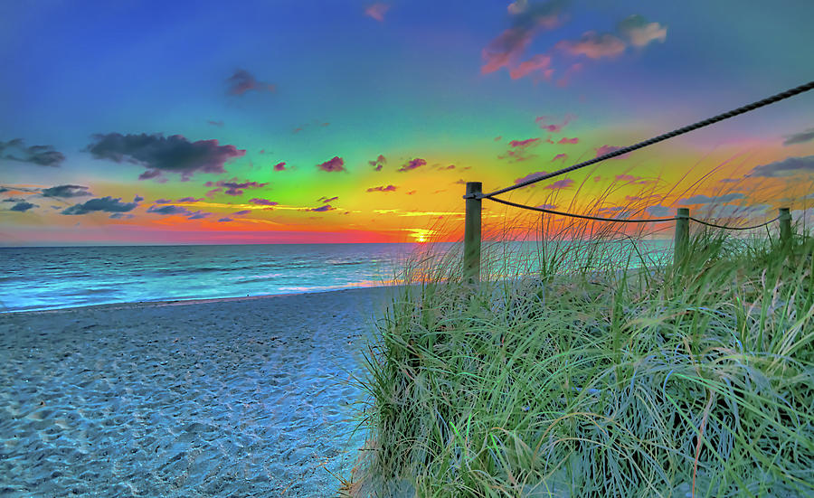 Rainbow Sunset by Sean Allen