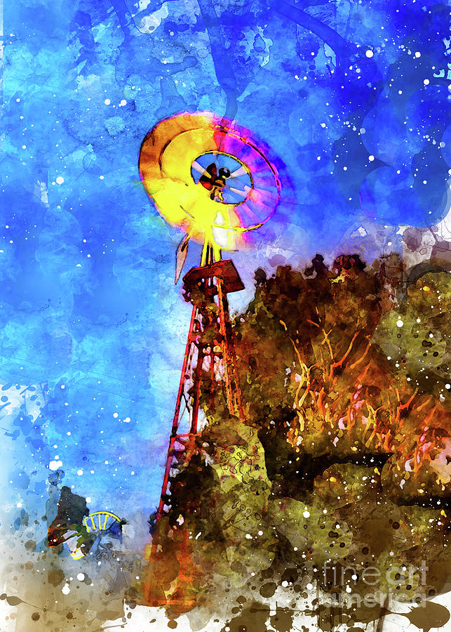 Rainbow Windmill by Mark Jackson