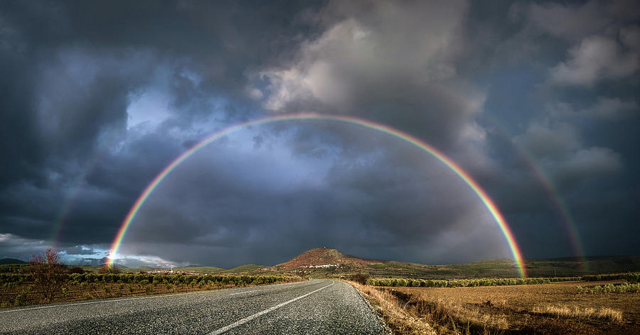 Rainbows and the Road by Suleyman Derekoy