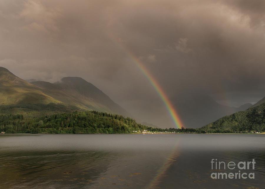 Rainbows Over Glencoe Photograph