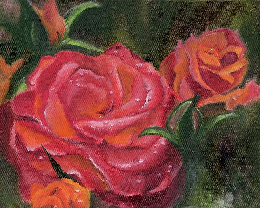 Raindrops on Roses by Deborah Butts