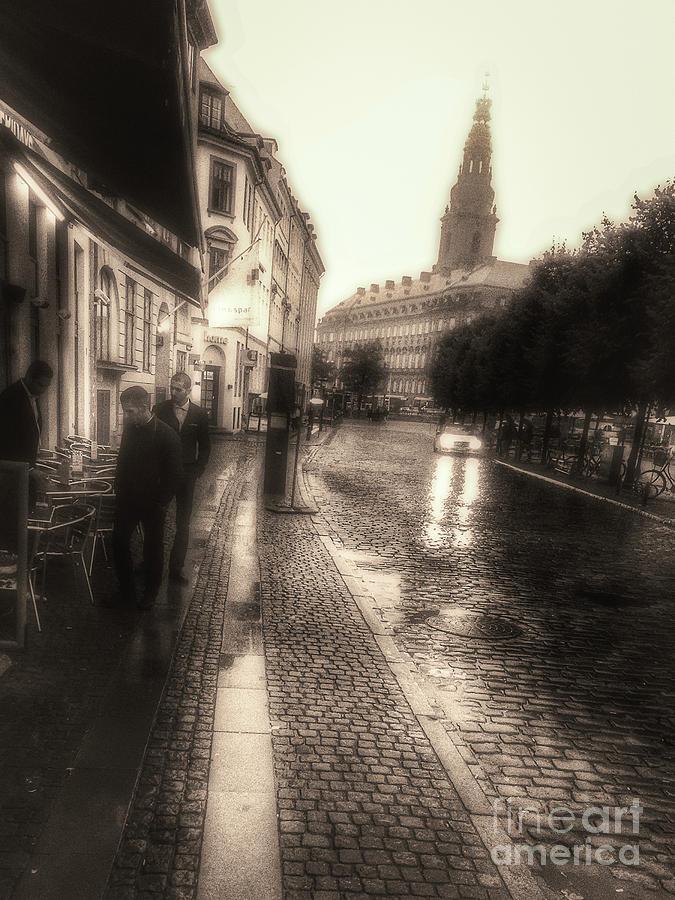 Raining In Copenhagen Photograph