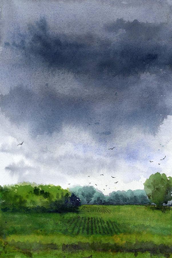 Rains Coming by James Faecke