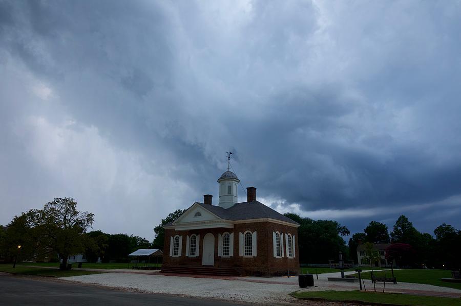 Rainstorm Approaches by Rachel Morrison