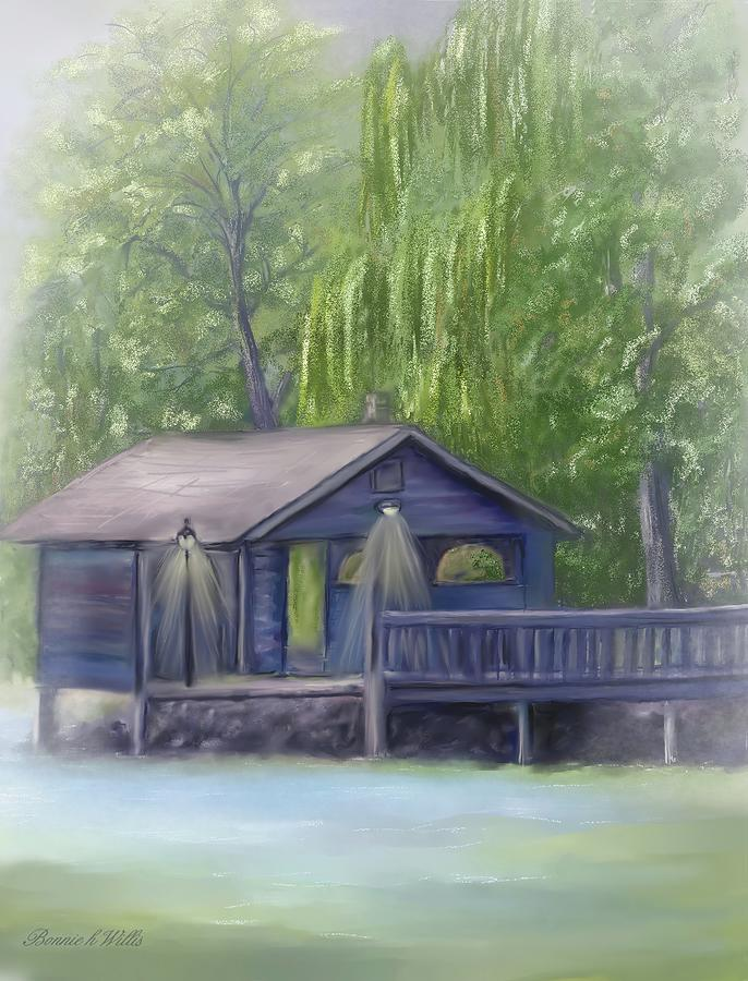 Rainy Day Fishing by Bonnie Willis