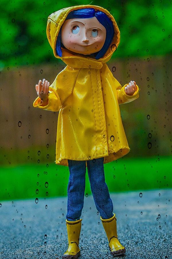 Rainy Day For Coraline Digital Art By Jeremy Guerin